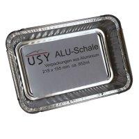 usy Aluschale passend für diverse Weber Grills (25er Set) 218x155x42mm