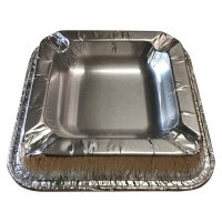 usy Einweg-Aschenbecher aus Aluminium Outdoor Aschenbecher Alu (20 Stck. Packung)