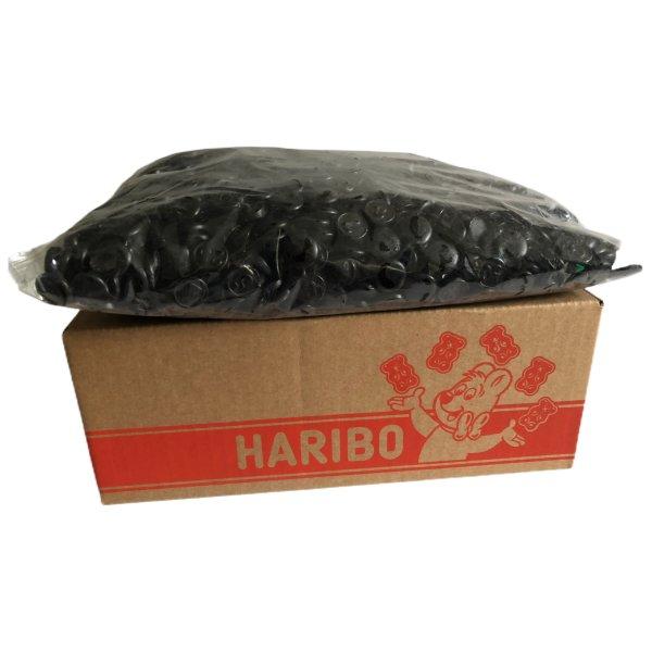 Haribo Drop Zwart-Geld 3000g Karton (Lakritz Schwarzgeld)