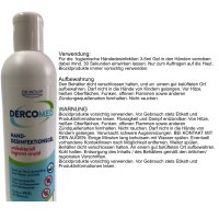 Dercomed Hand-Desinfektionsgel officepack (3x 280 ml...