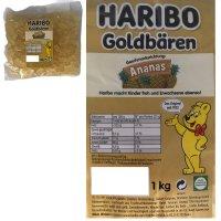 Haribo Goldbären Ananas (1kg Beutel...