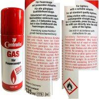Centralin Feuerzeuggas für alle gängigen...