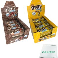M&Ms Hi Proteinriegel Maxi-Pack Schokolade &...