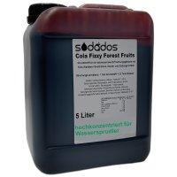 sodados Sirup Cola Fizzy Forest Fruits für...